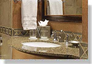 we stock 1000s of vanity tops shower tub surrands counter tops sinks window sills thresholds and floor products in our facility for immediate delivery